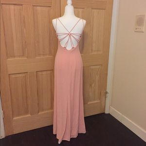 Authentic Giorgio Armani Pink Silk Gown